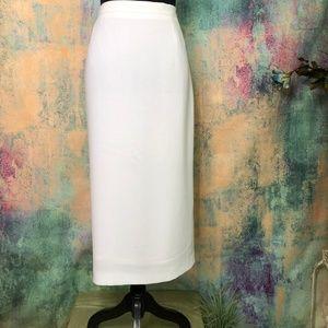 📌📌M.X.C.S München Classic white Pencil Skirt 📌
